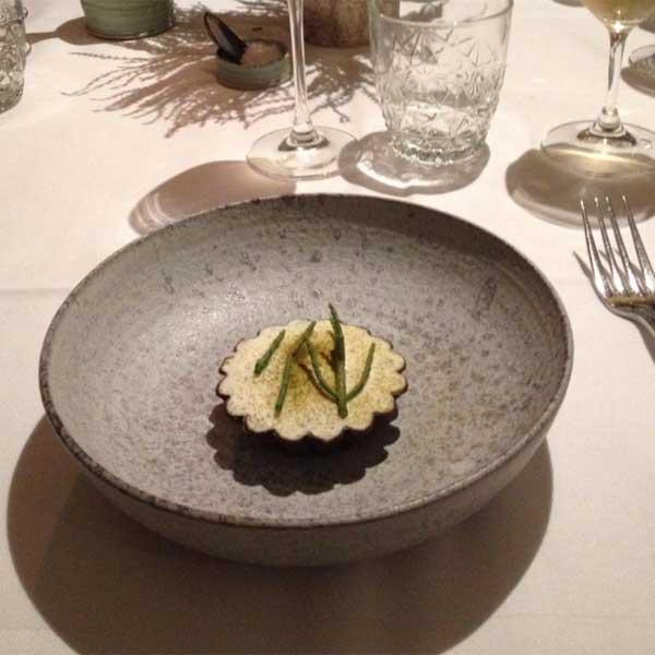 Rikke Elgaard Keramik på Restaurant Substans
